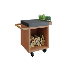 Mise en Place Table Corten 65 PRO Dark Grey Ceramic