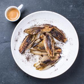 Chicory with coffee